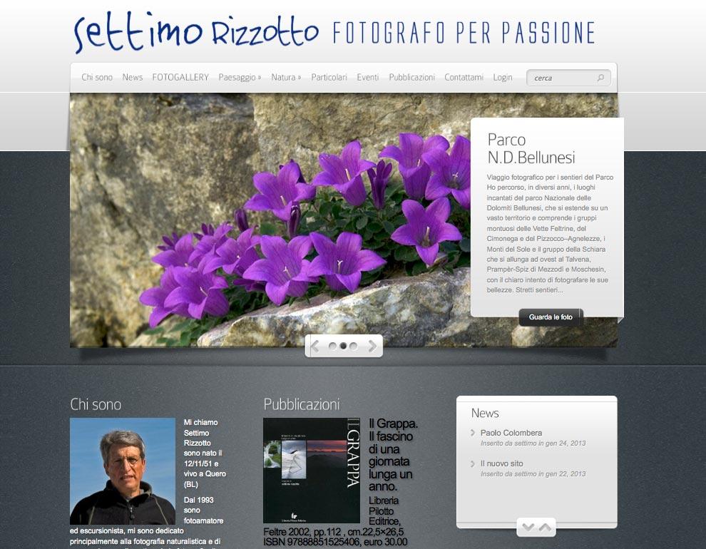 Settimo Rizzotto, fotografo per passione