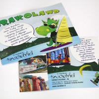 Cartolina promozionale Drakoland