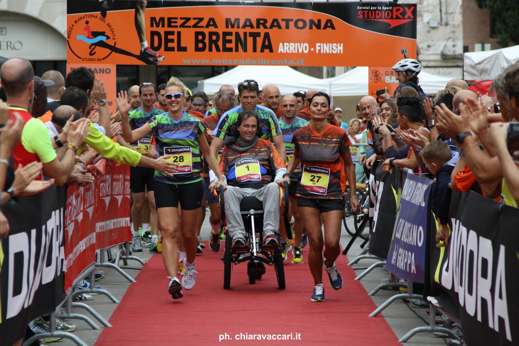 One shot! Lele Marcon alla Mezza Maratona del Brenta
